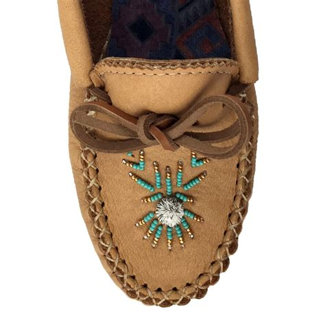 beaded moccasin vs s genuine moosehide leather beaded moccasin shoes