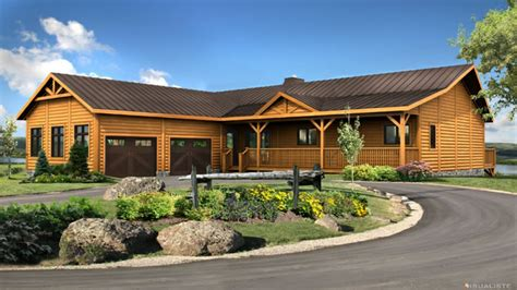 7 ranch floor plans log cabin ranch style log home floor prefab homes log cabin ranch log cabin ranch homes ranch