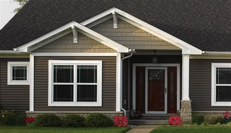 Painting Doors And Trim Different Colors by Vinyl Siding Amp Polymer Shakes Photo Gallery