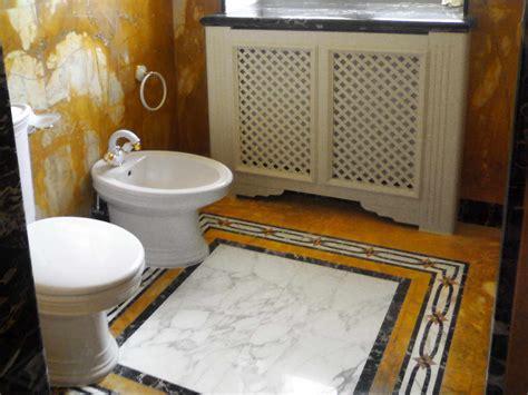 bagno giallo bagno in marmo giallo siena portoro calacatta rosso