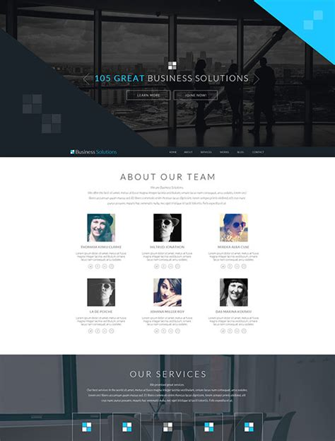 joomla template engine ot business solutions professional joomla business