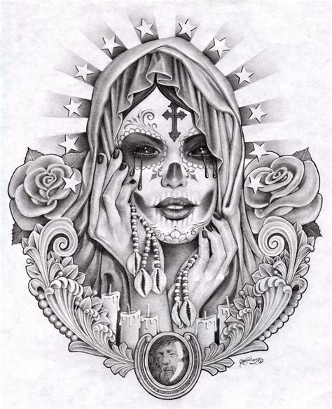 mexican tattoo design mexican tattoos design by santa murte