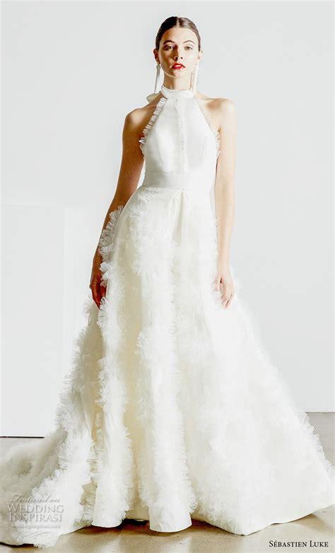 sebastien luke spring  wedding dresses wedding