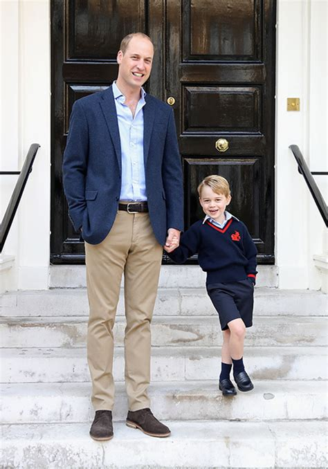 prince william education prince george joined by cousin maud at thomas s battersea