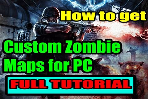 tutorial game clash of zombie how to install and play custom zombie maps for waw pc