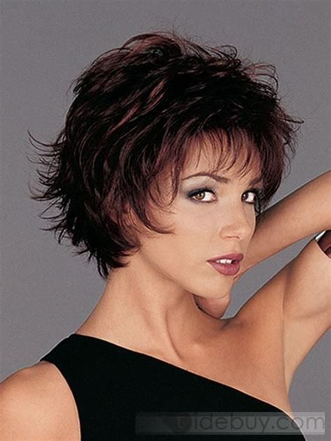 short haircuts for heavy women over 40 best short hairstyle for women over 40 sexy layered razor