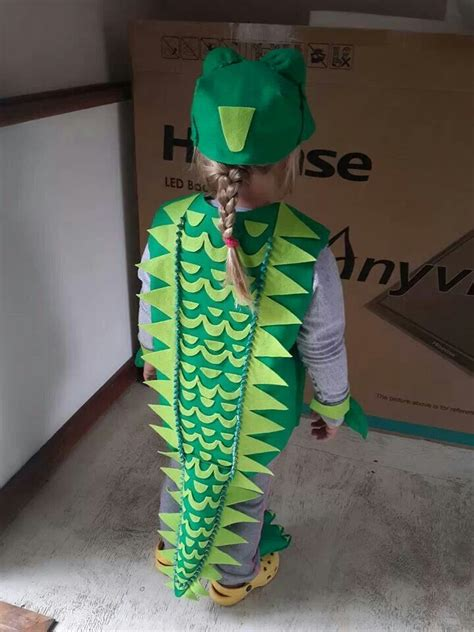How To Make Paper Costumes - 25 best ideas about crocodile costume on