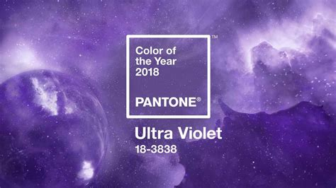 color of the year 2018 2018 colour of the year ultra violet is futuristic color intic web