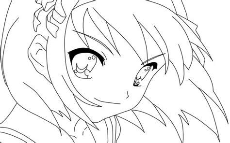 anime girl coloring pages to print gianfreda 318115