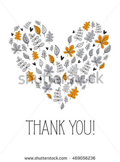 Illustrator Thank You Card Template by Set Four Frames Shape Stock Vector 234337069