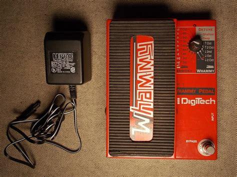 Digitec 2099 Original 6 digitech whammy wh 1 original edition in gorgeous condition w power supply reverb