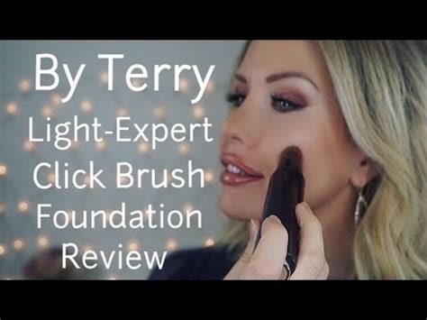 by terry light expert click brush brush off by terry light expert click brush foundation review and