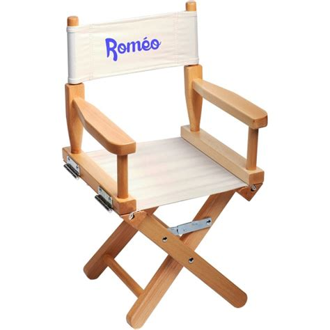 chaise metteur en chaise metteur en sc 232 ne enfant personnalis 233 e naturel ecrue