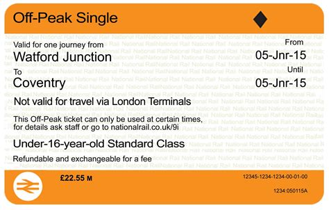 printable train tickets uk train tickets get a makeover