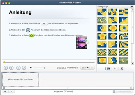 tutorial movie maker mac xilisoft video maker for mac anleitung videos auf mac