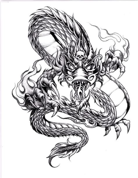 awesome dragon tattoos awesome cool designs stylendesigns