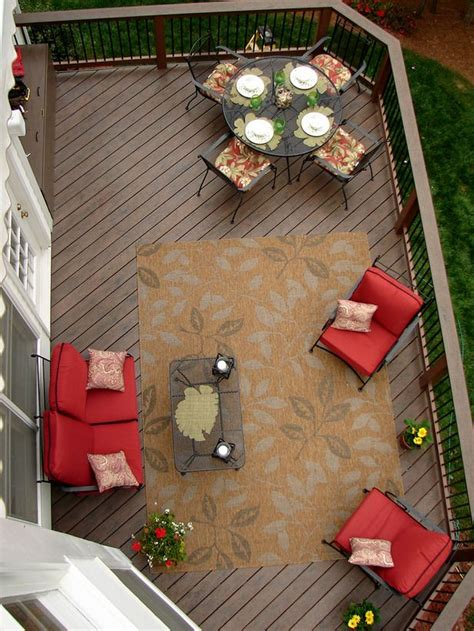 patio furniture lay outs deck makeover treetop den decks beautiful and furniture