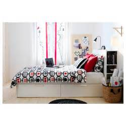 brimnes bed frame with storage headboard brimnes bed frame w storage and headboard white lur 246 y standard double ikea