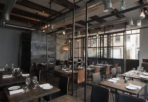 industrial interior restaurant interior design industrial environment style