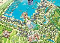 center parcs de port zelande parkplan