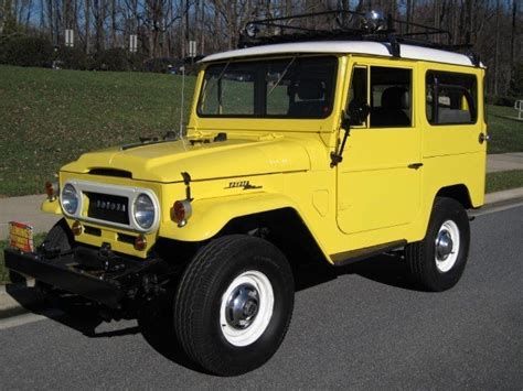 1966 Toyota Land Cruiser Fj40 1966 Toyota Fj40 Land Cruiser 1966 Toyota Fj For Sale To
