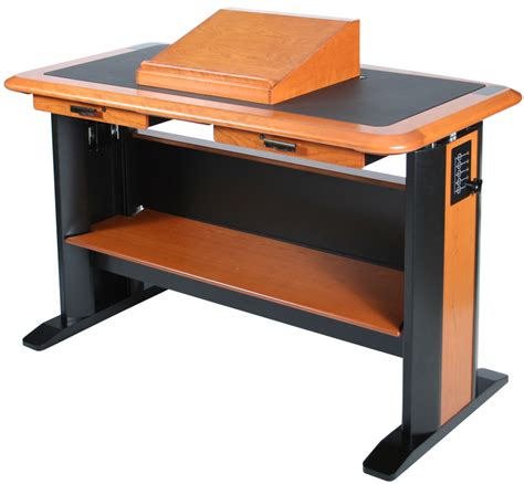 stand up desk accessories top lectern caretta workspace