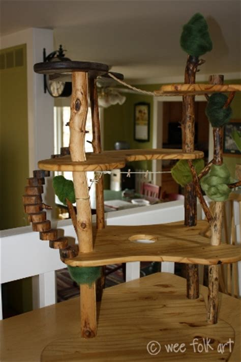 tree house doll house why a doll house why not a tree house i can t wait to make one of these for my kids