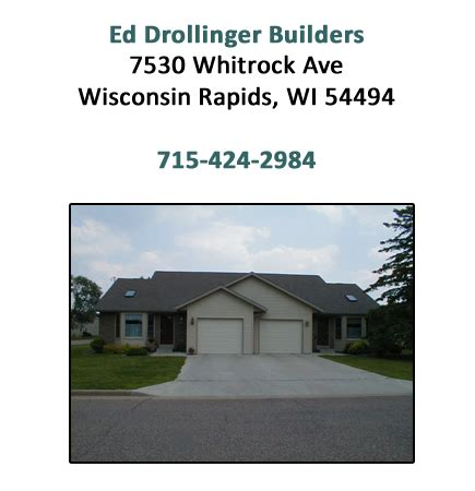 contact ed drollinger builders