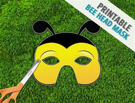 bug masks for templates bumble bee printable bug mask photo prop bug mask