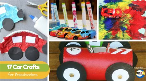 car craft for car crafts for preschoolers kidz activities