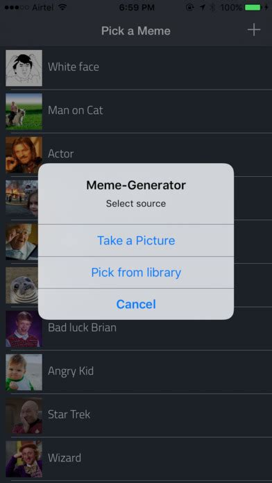 Meme Center Mobile App - top 5 paid ios apps gone free you should download today