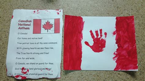 canadian crafts for a and easy canada day craft canadian