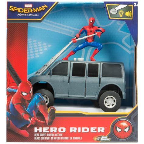 spider man hero rider marvel toys games bm