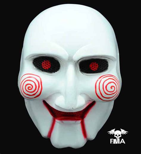 printable jigsaw mask fma halloween wire mesh quot saw quot mask tb594 free shipping
