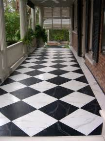 Outdoor Floor Painting Ideas Patterned Floors Painted Stencilled To Perfection Zeller Interiors