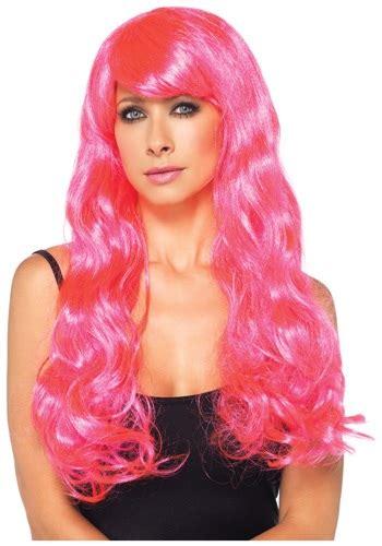 Pinkcoco Wig 2 neon pink wig
