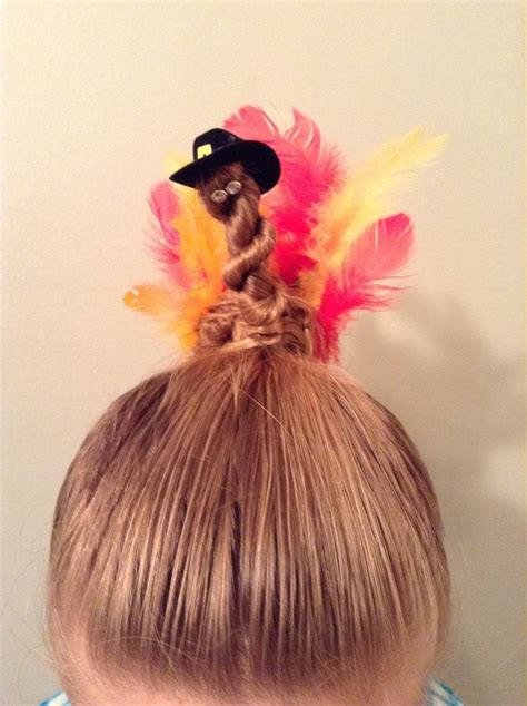 Hairstyles For Thanksgiving by Thanksgiving Turkey Bun Hairstyle My Style