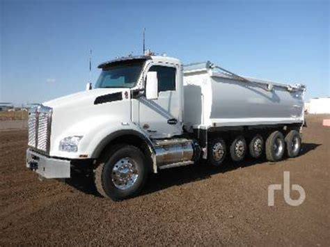 kenworth trucks 2017 2017 kenworth t880 dump trucks for sale 17 used trucks