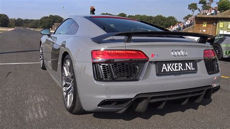 nardo grey r8 nardo grey audi r8 v10 plus exhaust notes