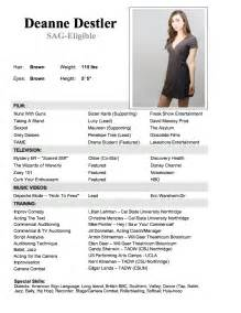 professional actor resume job resume samples