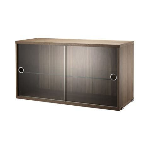 Small Wall Mounted Wooden Display Cabinet With Sliding Wall Display Cabinets With Glass Doors