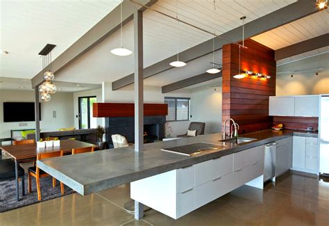 concrete kitchen design 14 concrete countertops that prove this material suits any
