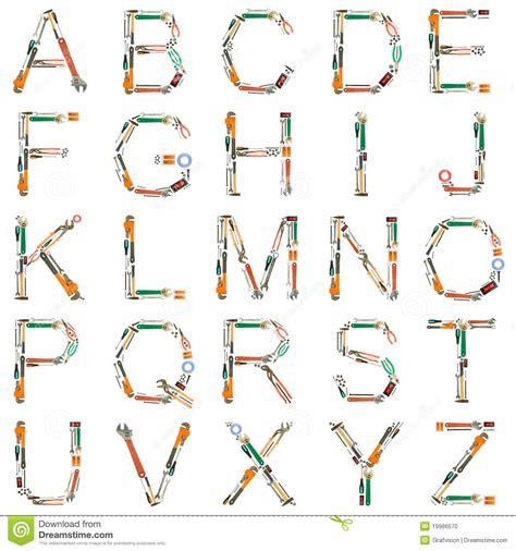 typography tools tools alphabet stock photo image of screwdriver tapeline