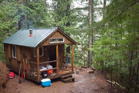 Tiny Cabin by Tiny Cabin In The Woods Tiny House Swoon