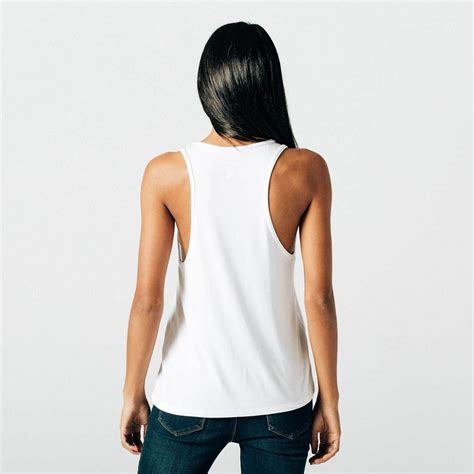 The Ultimate Cq Suitcase 1 The White Tank by Womens Modal Racerback Tank In White 30 Dstld