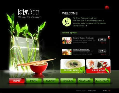 swishmax templates restaurant swish template 30244