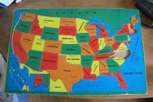 vintage us map puzzle vintage map of the united states wooden puzzle jks copyright