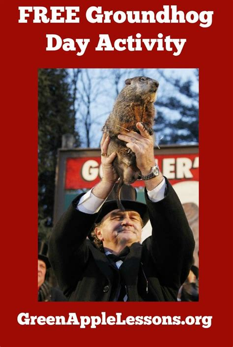 groundhog day phrase groundhog day activity ideas for and a free groundhog