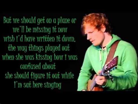ed sheeran don t 洋楽劇場 don t ed sheeran 歌詞 和訳 doovi