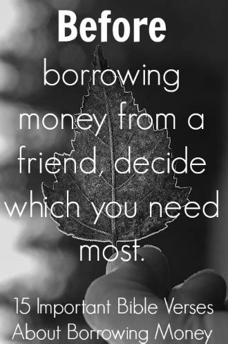 Bible Quotes About The Of Money by 15 Important Bible Verses About Borrowing Money